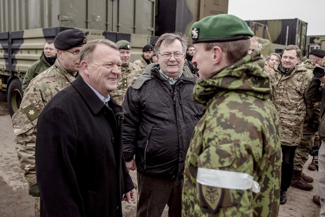 Politisk flertal vil polstre det danske forsvar Statsministeren