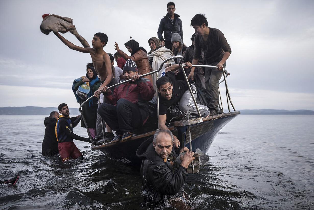 Flygtningebåd