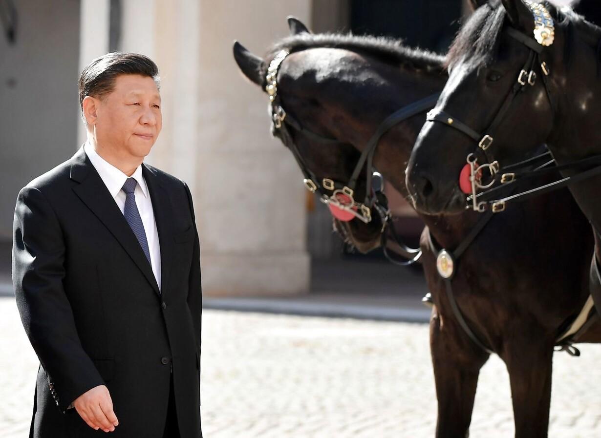 ITALY-CHINA-POLITICS-DIPLOMACY