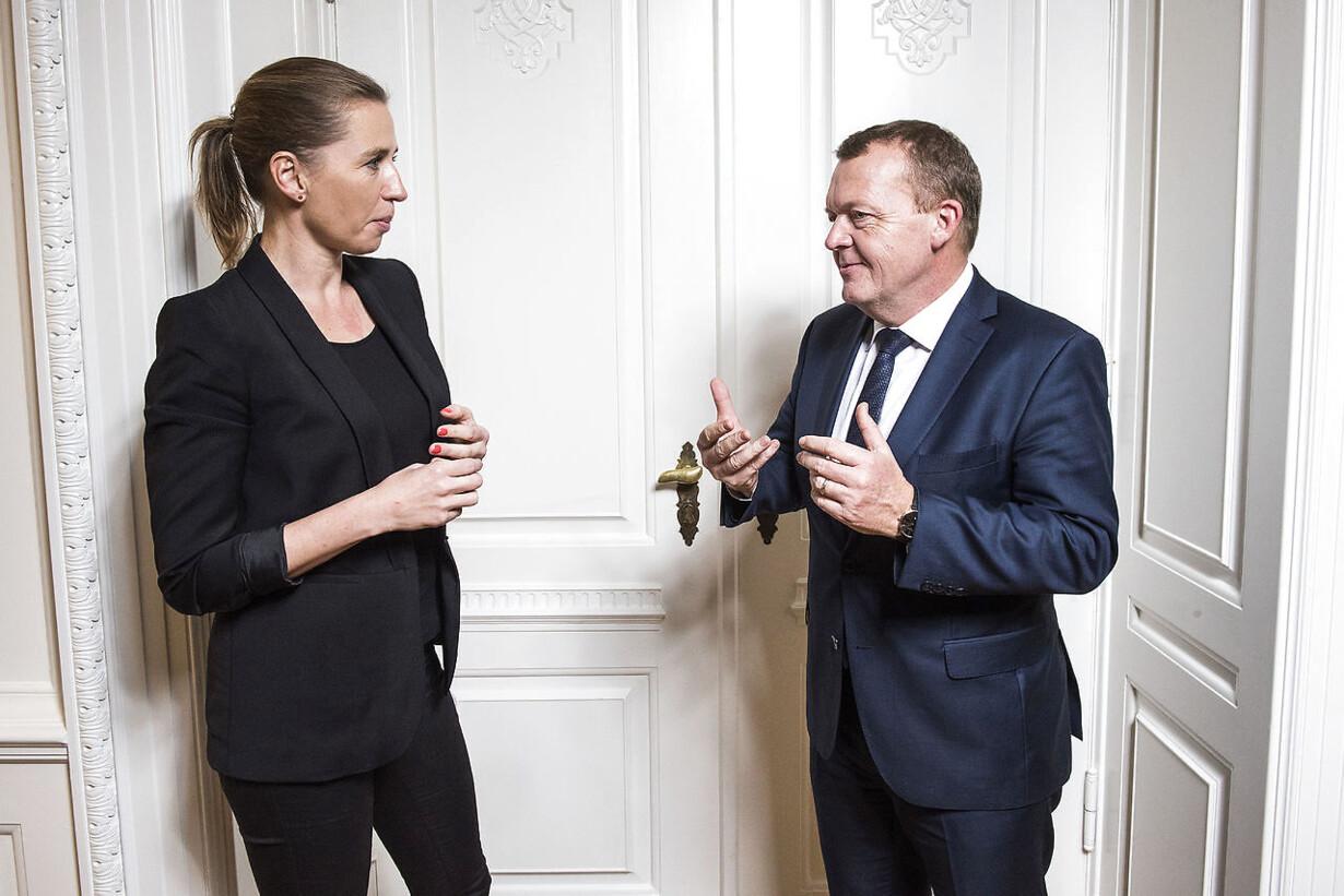 Løkke og Frederiksen tyvstarter valgkampen med tv-duel