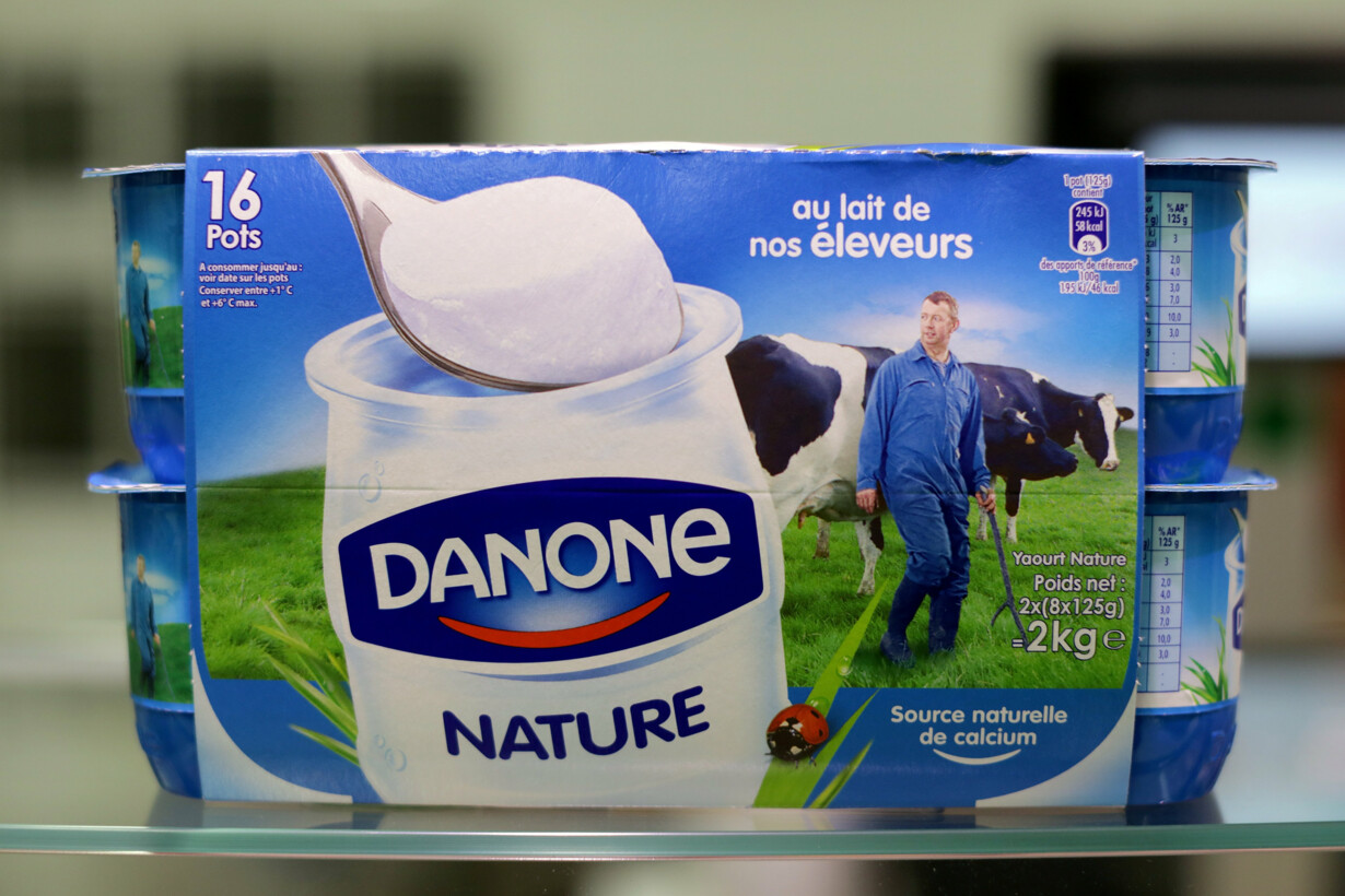FILE PHOTO: Yoghurt by French