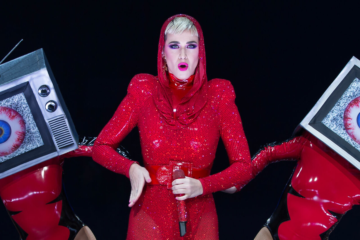 ENTERTAINMENT-US-MUSIC-KATY PERRY