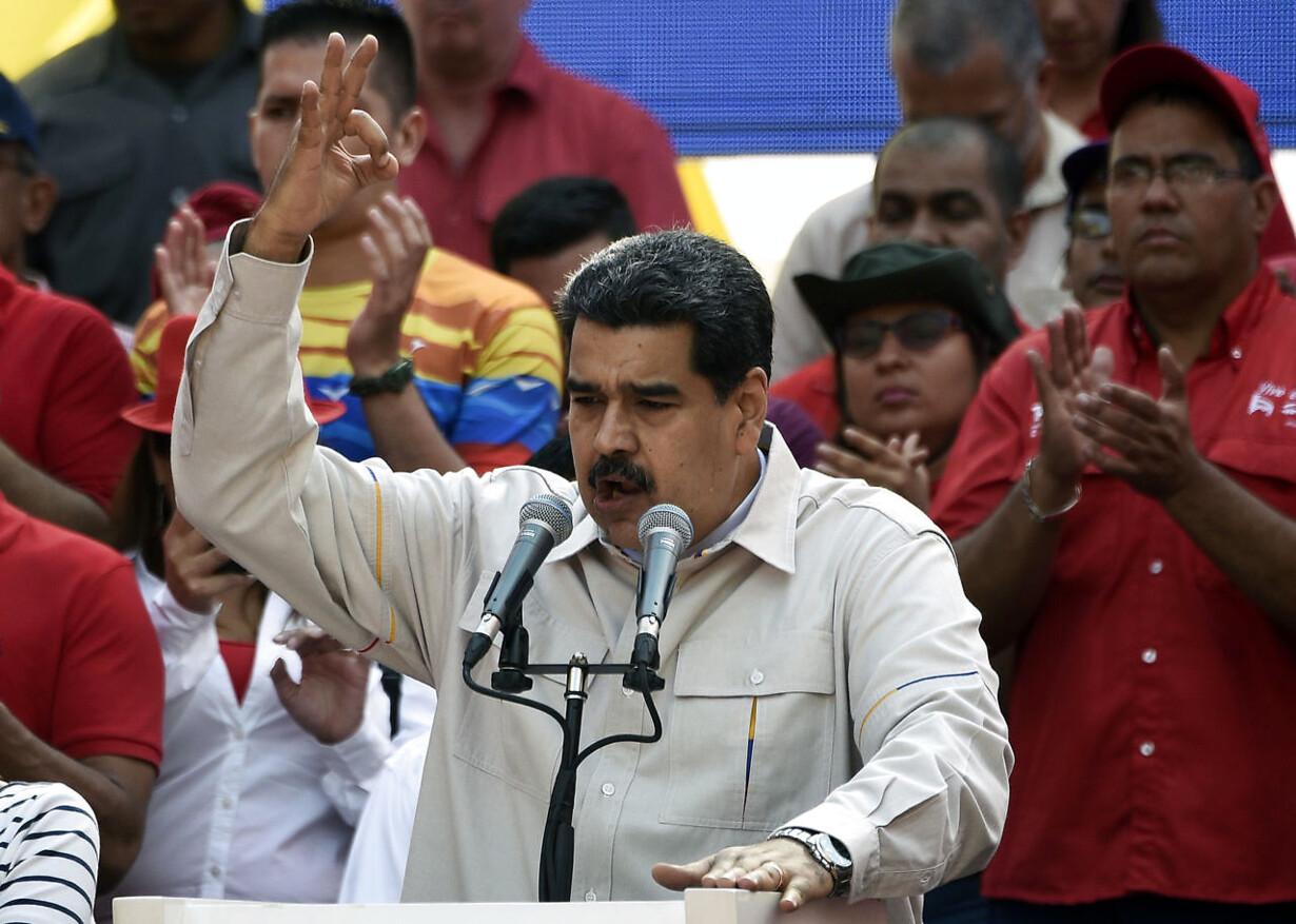 VENEZUELA-CRISIS-MADURO-RALLY