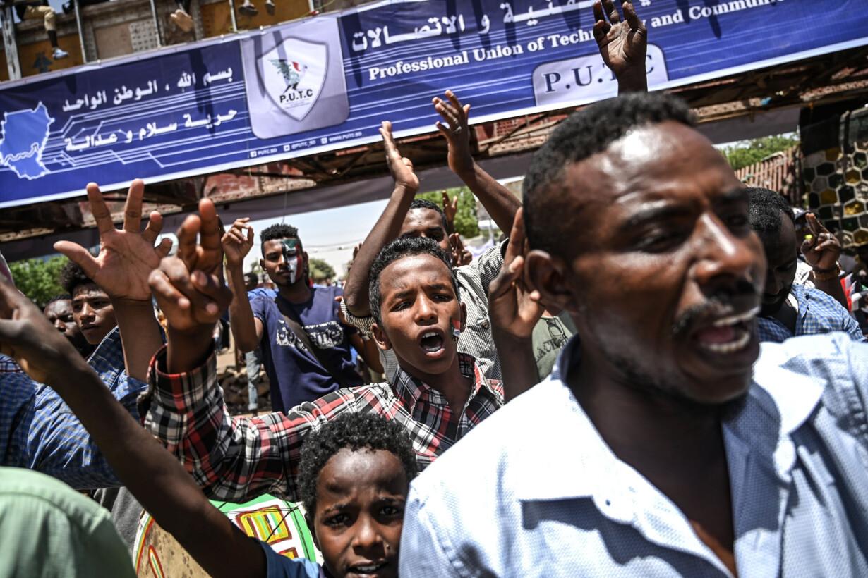 SUDAN-UNREST-POLITICS - 201904