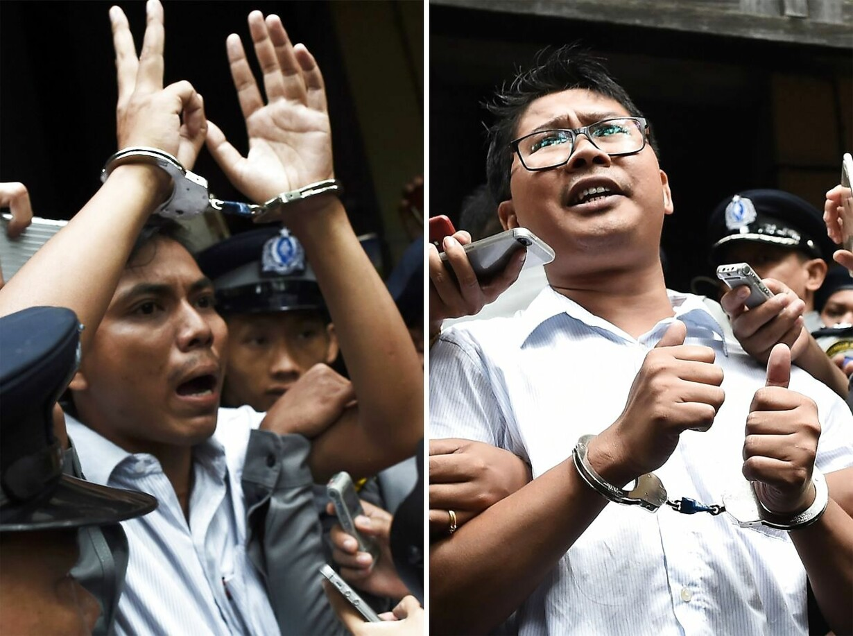 FILES-COMBO-MYANMAR-ROHINGYA-REUTERS-COURT-MEDIA-RIGHTS