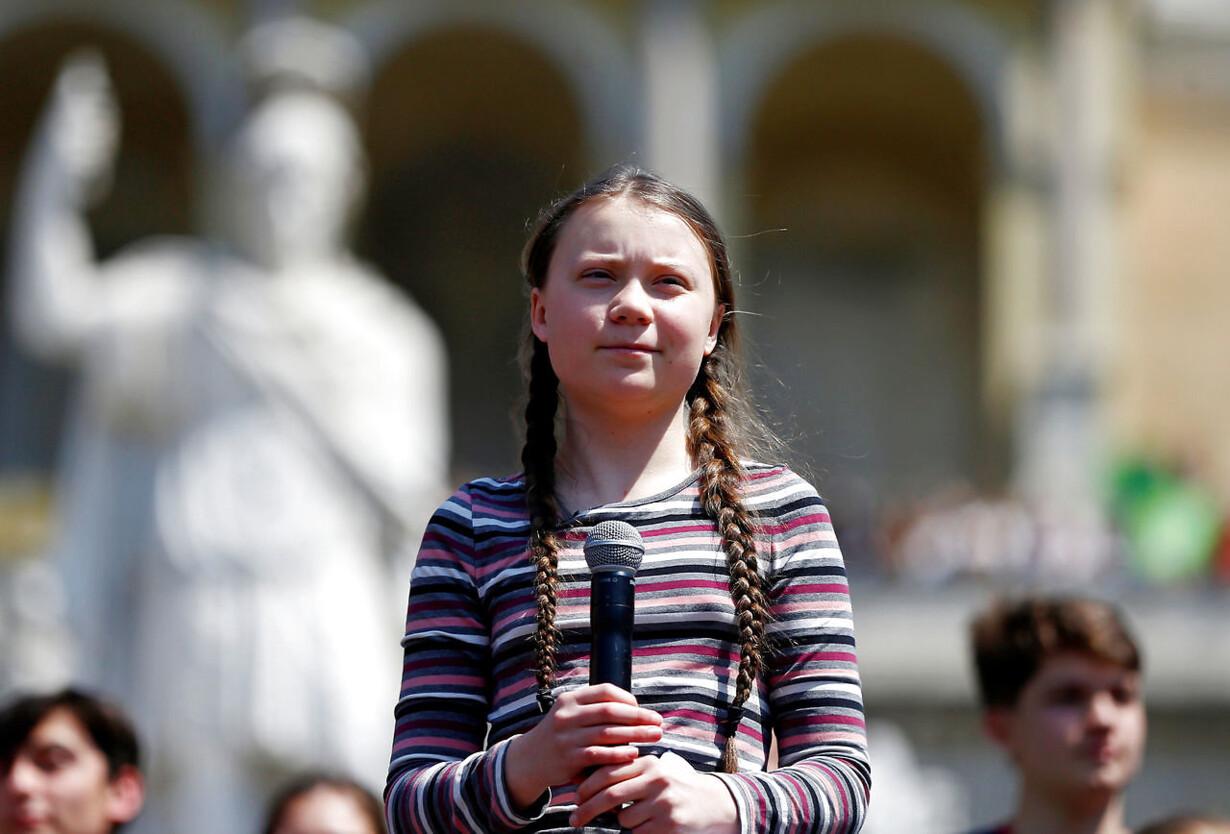 CLIMATE-CHANGE/YOUTH-GRETA-ROME