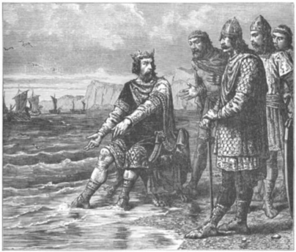 Knud den Store og vandet
