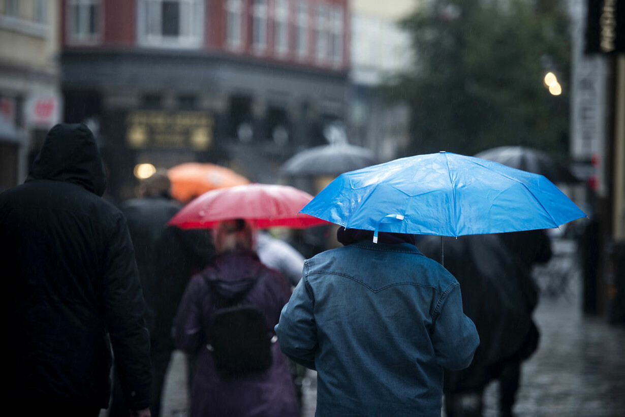 Regnvejr i DK