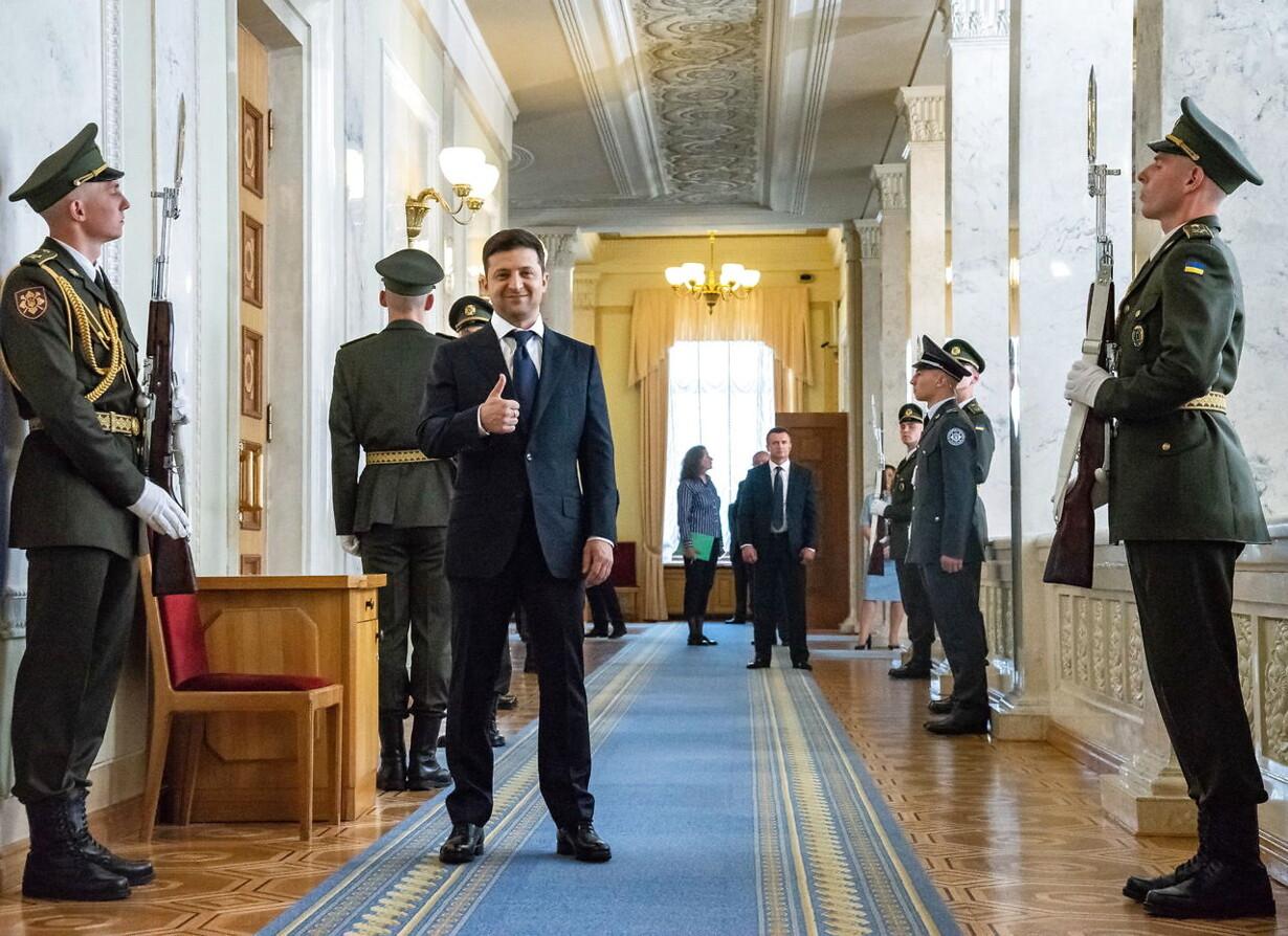 UKRAINE ZELENSKY INAUGURATION