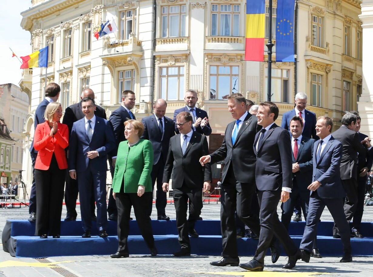 ROMANIA-EU-SUMMIT
