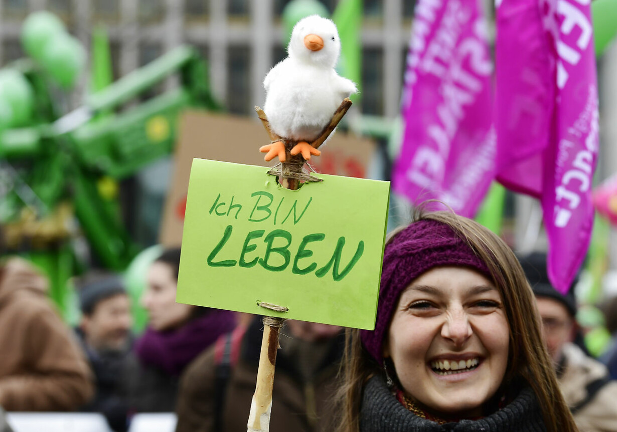 GERMANY-PROTEST-AGRICULTURE