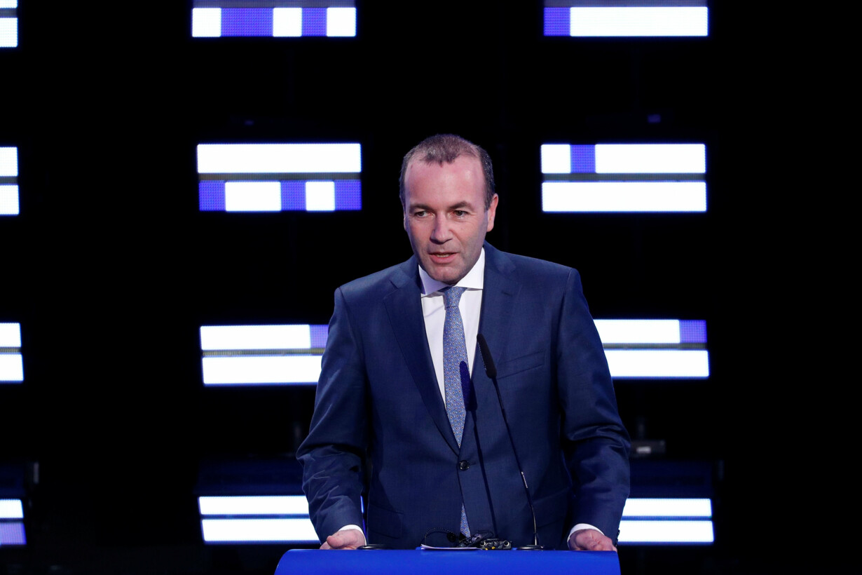 Manfred Weber, candidate of th