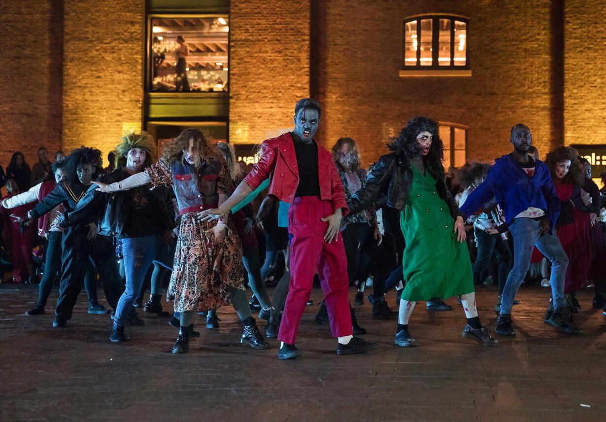 BRITAIN DANCE HALLOWEEN