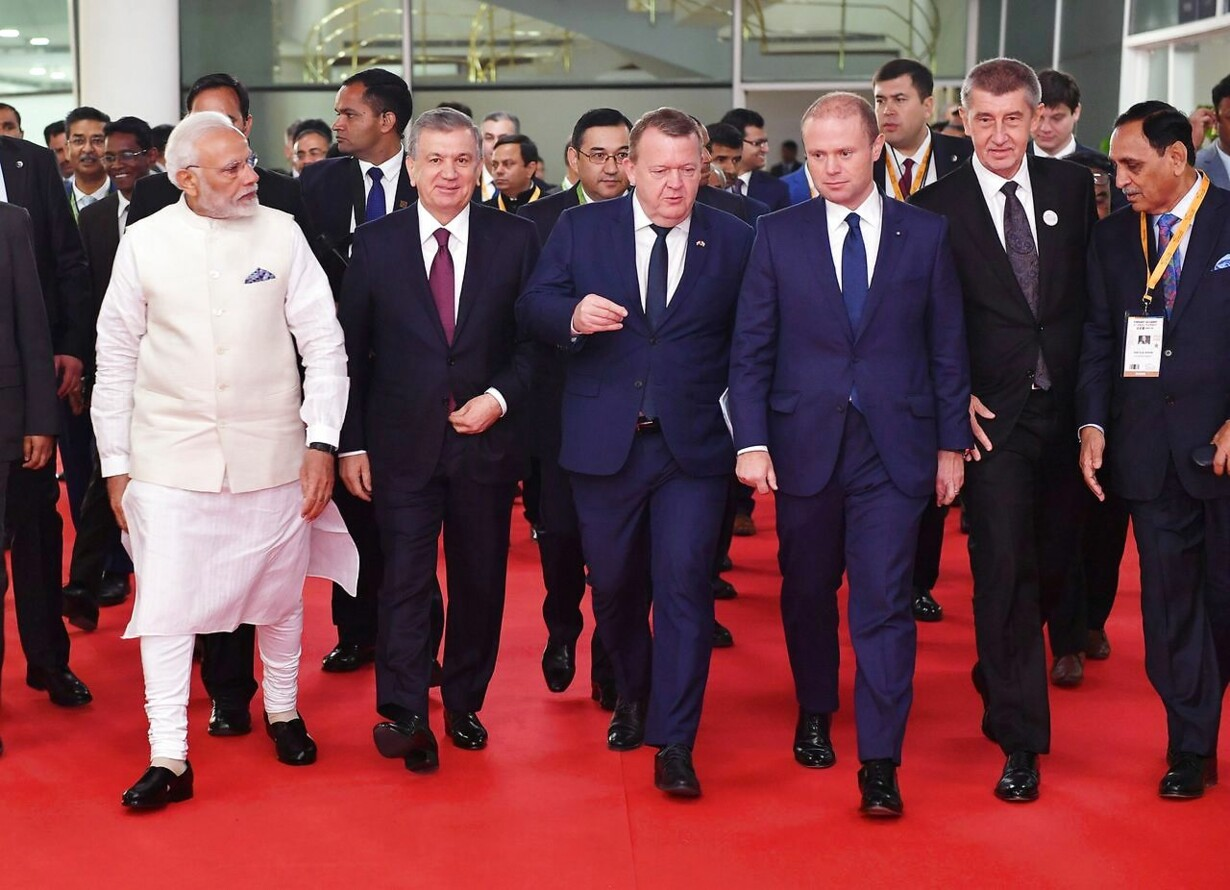 INDIA-DIPLOMACY-SUMMIT