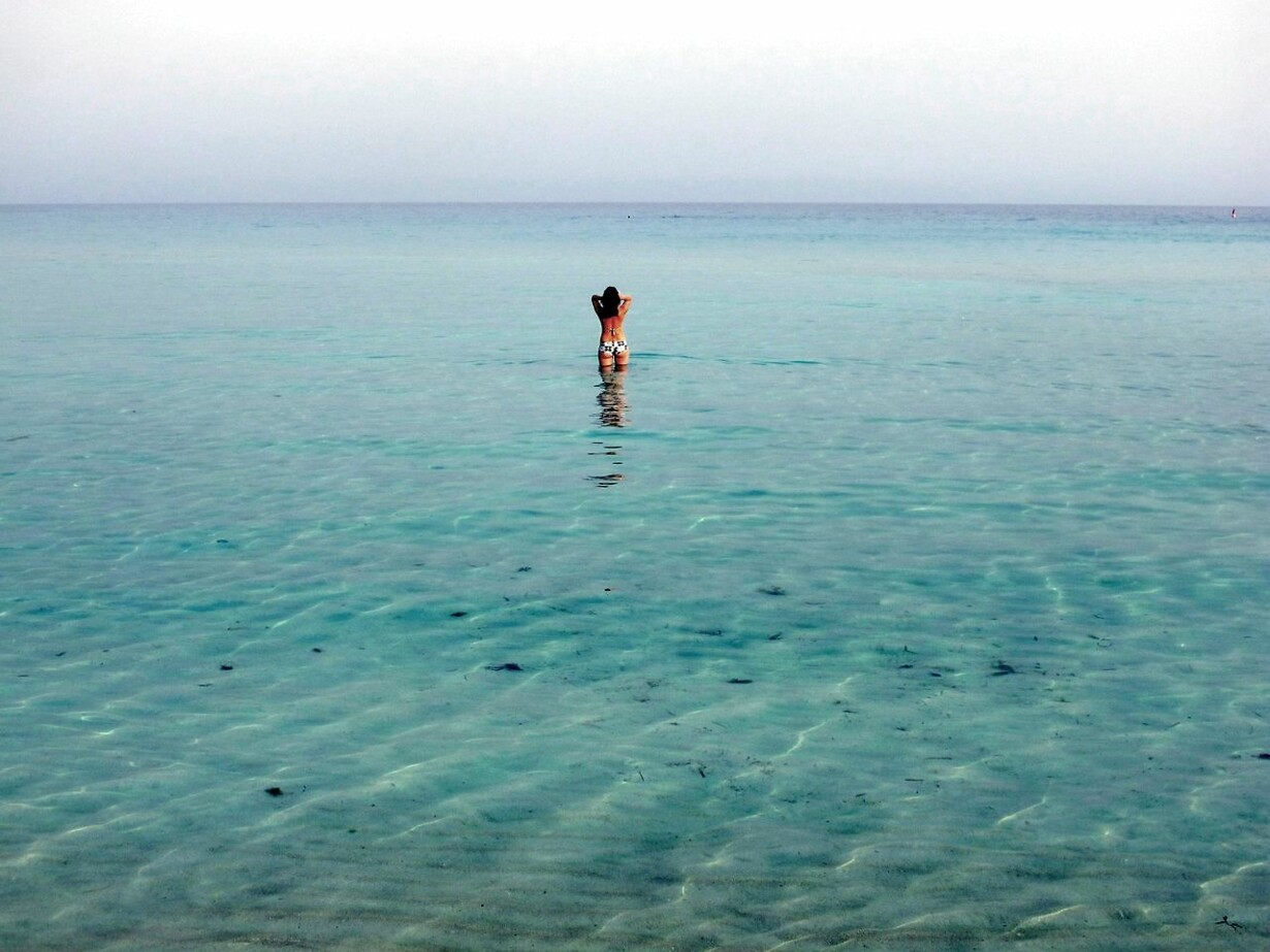EU-ENVIRONMENT-TOURISM-BATHING-CYPRUS