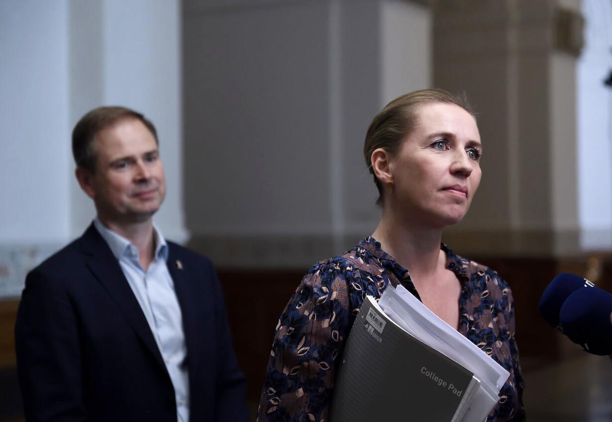 Regeringsforhandlinger på Christiansborg