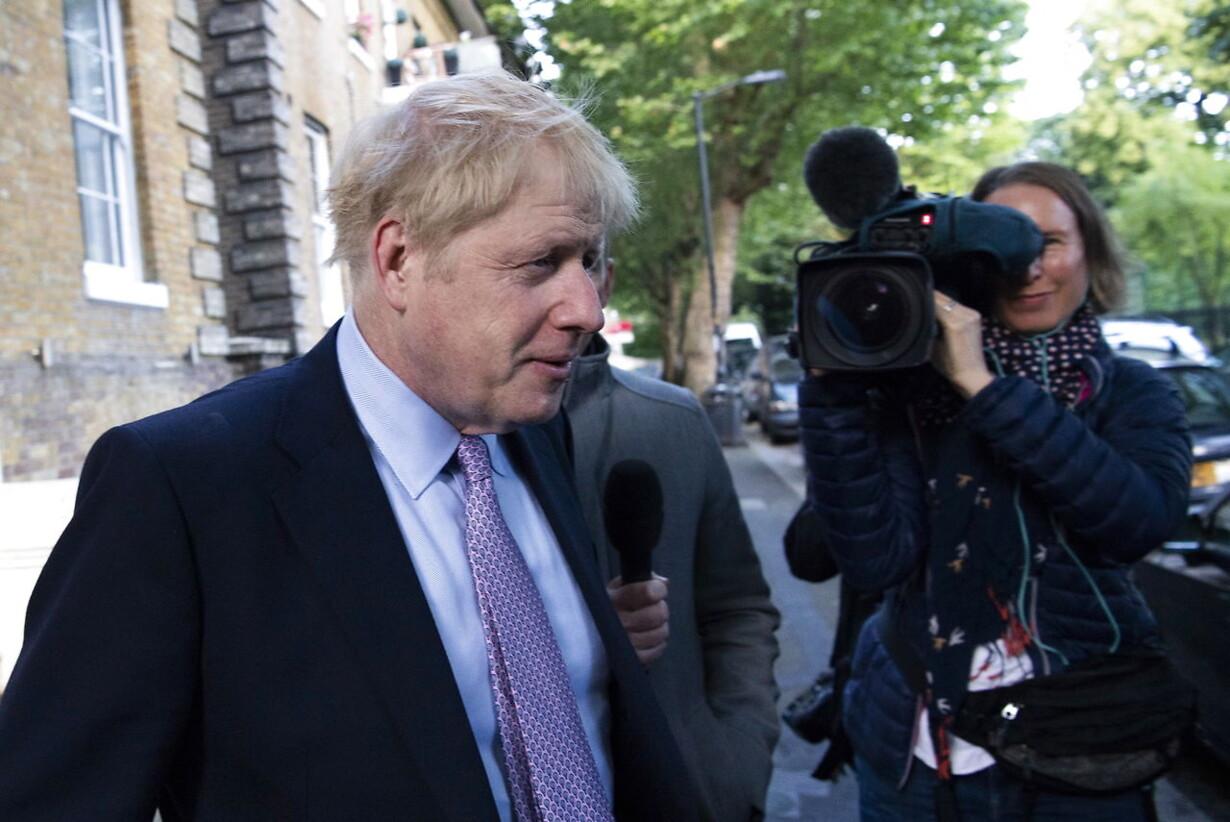 BRITAIN POLITICS CONSERVATIVE LEADERSHIP RACE