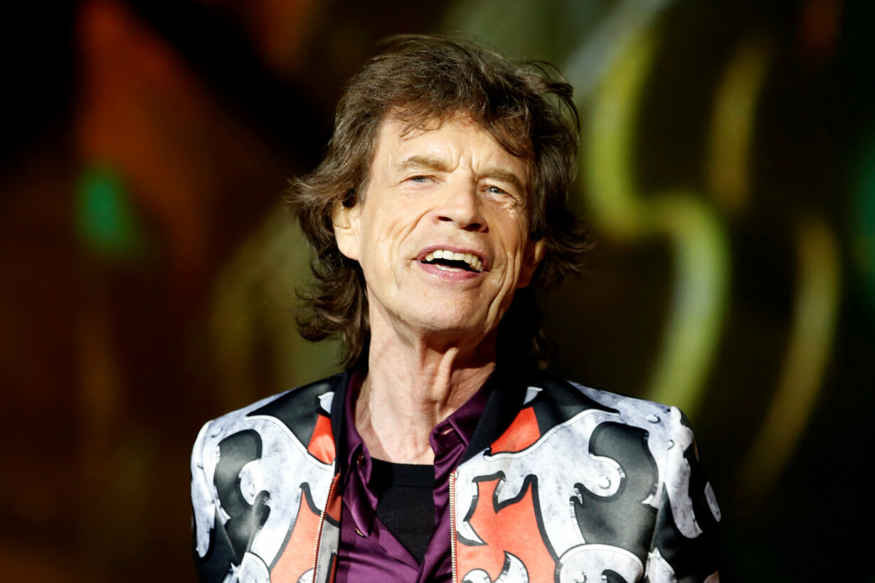 FILE PHOTO: Mick Jagger of the