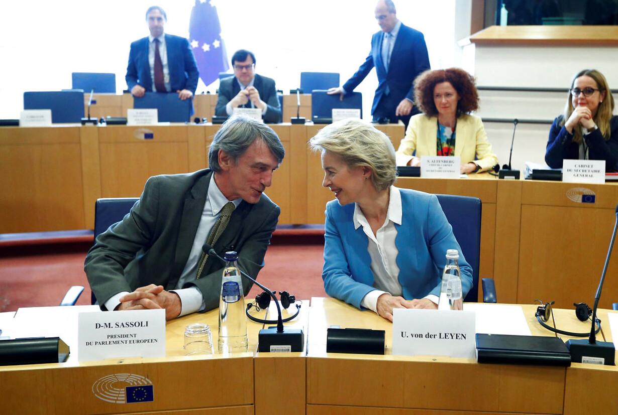 EU-JOBS/VONDERLEYEN