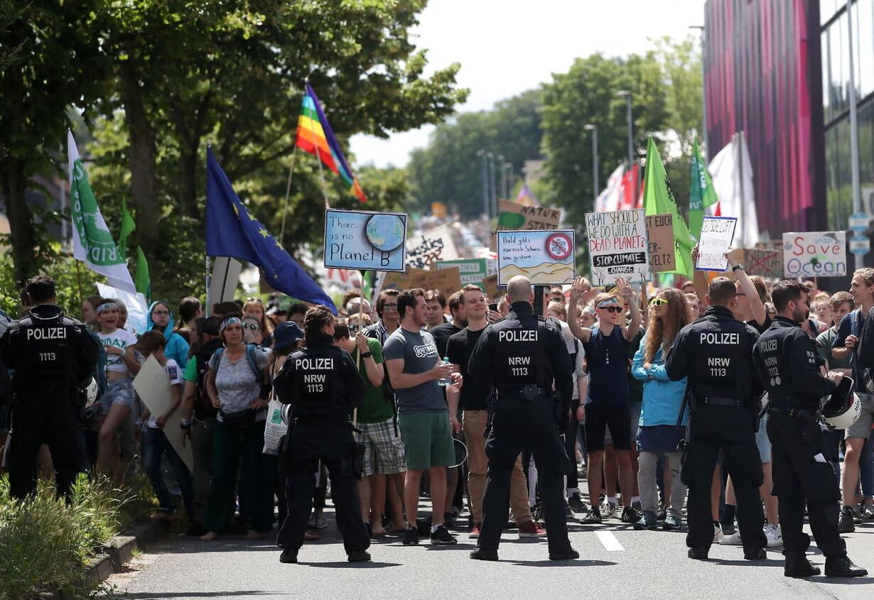 GERMANY SCHOOL STRIKE CLIMATE