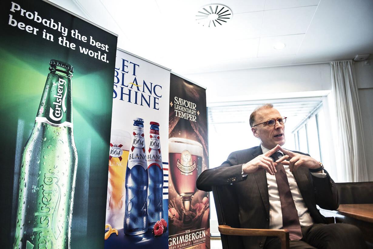 Carlsberg med regnskab for de første tre måneder af 2017 Carsl
