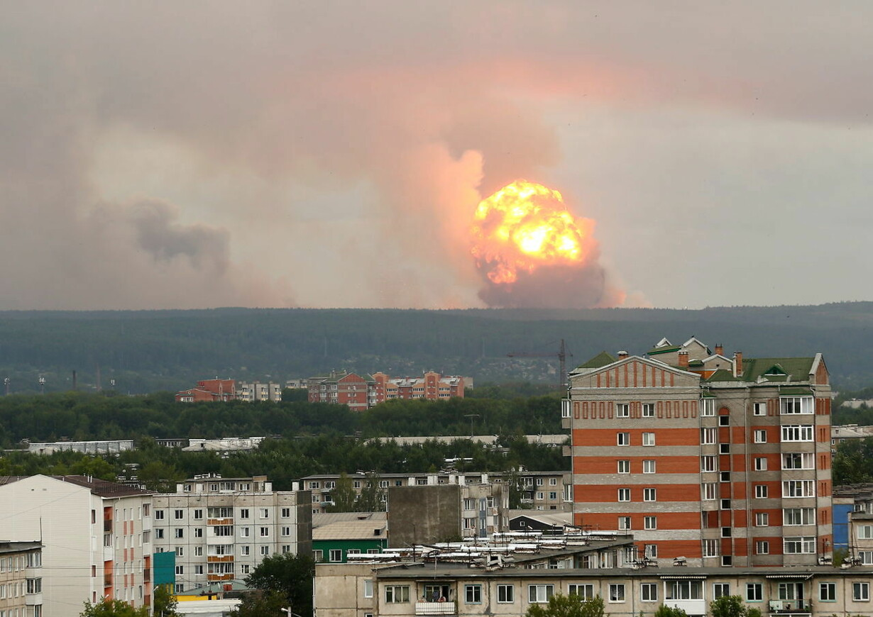 RUSSIA MILITARY DEPOT EXPLOSION