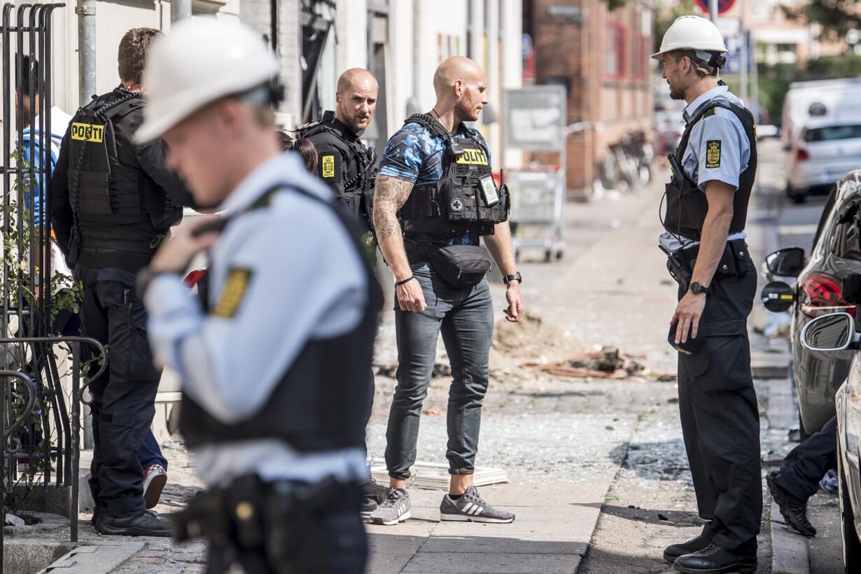 Eksplosion i København - 20190