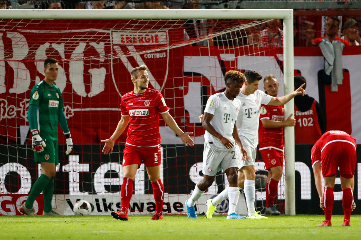 DFB Cup - First Round - Energi