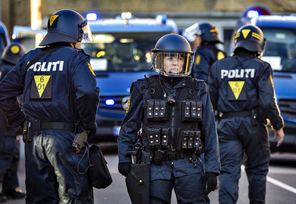 Politiøvelse i Randers