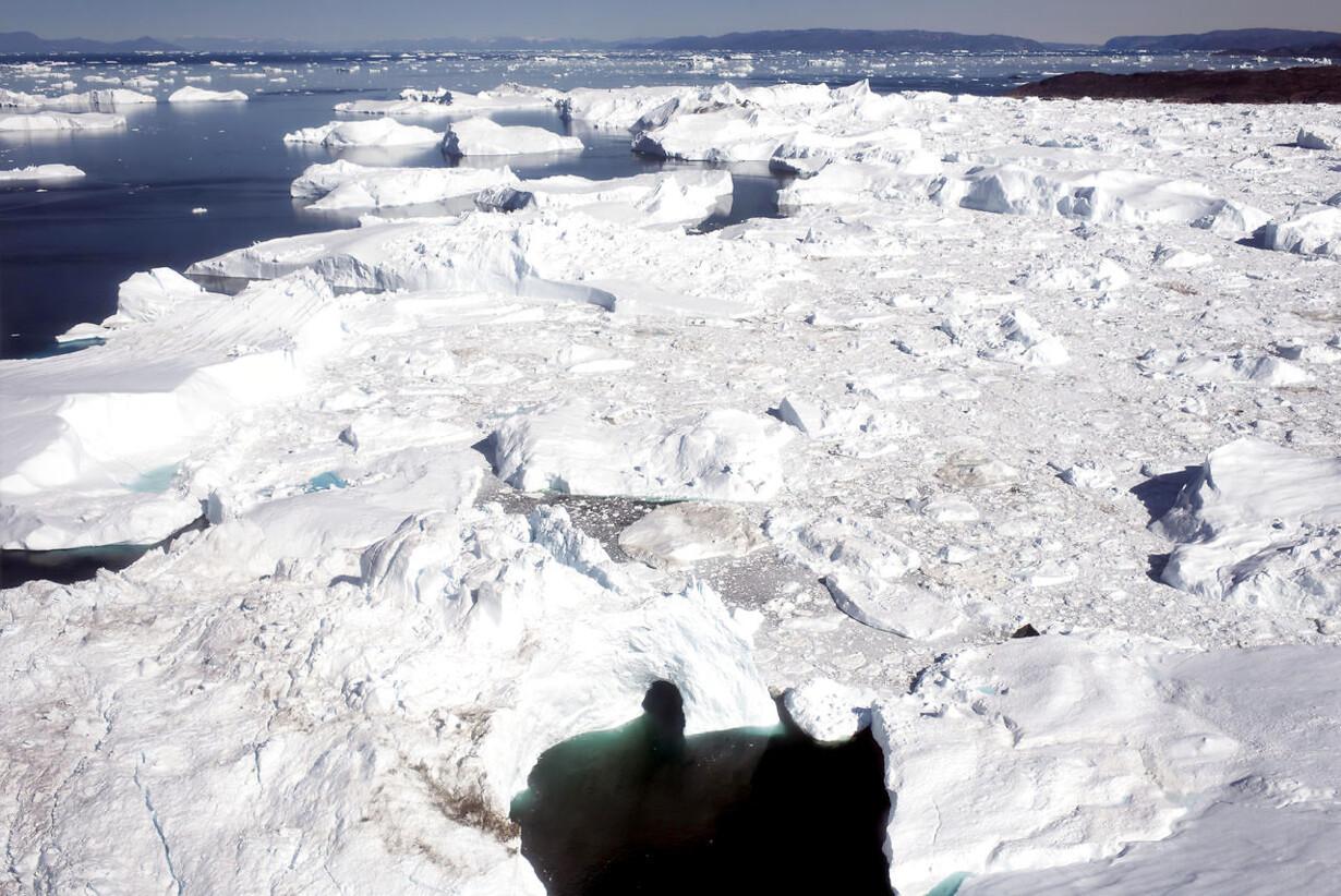 Forskere: Smeltet is svækker Golfstrømmen Klimachef: Rekordår