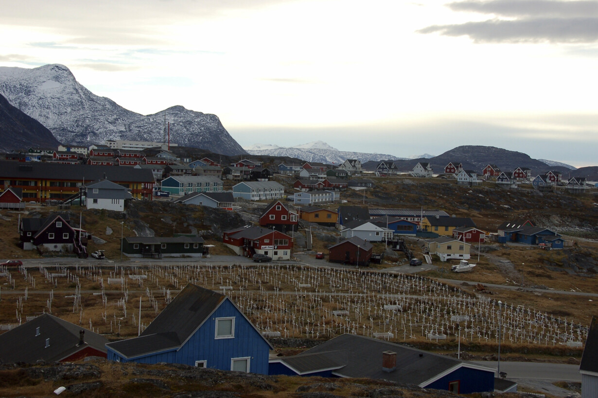 General view of Greenland''s c