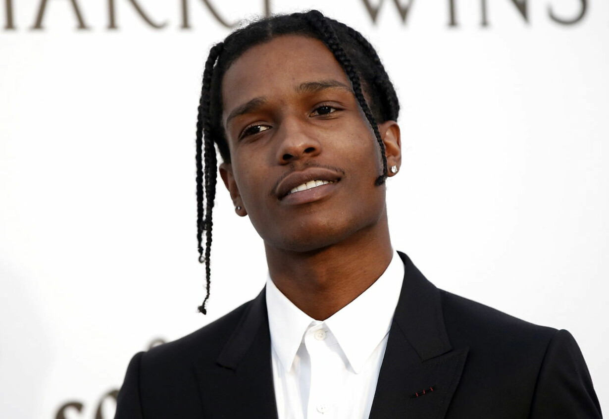 (FILE) FRANCE SWEDEN TRIALS ASAP ROCKY VERDICT