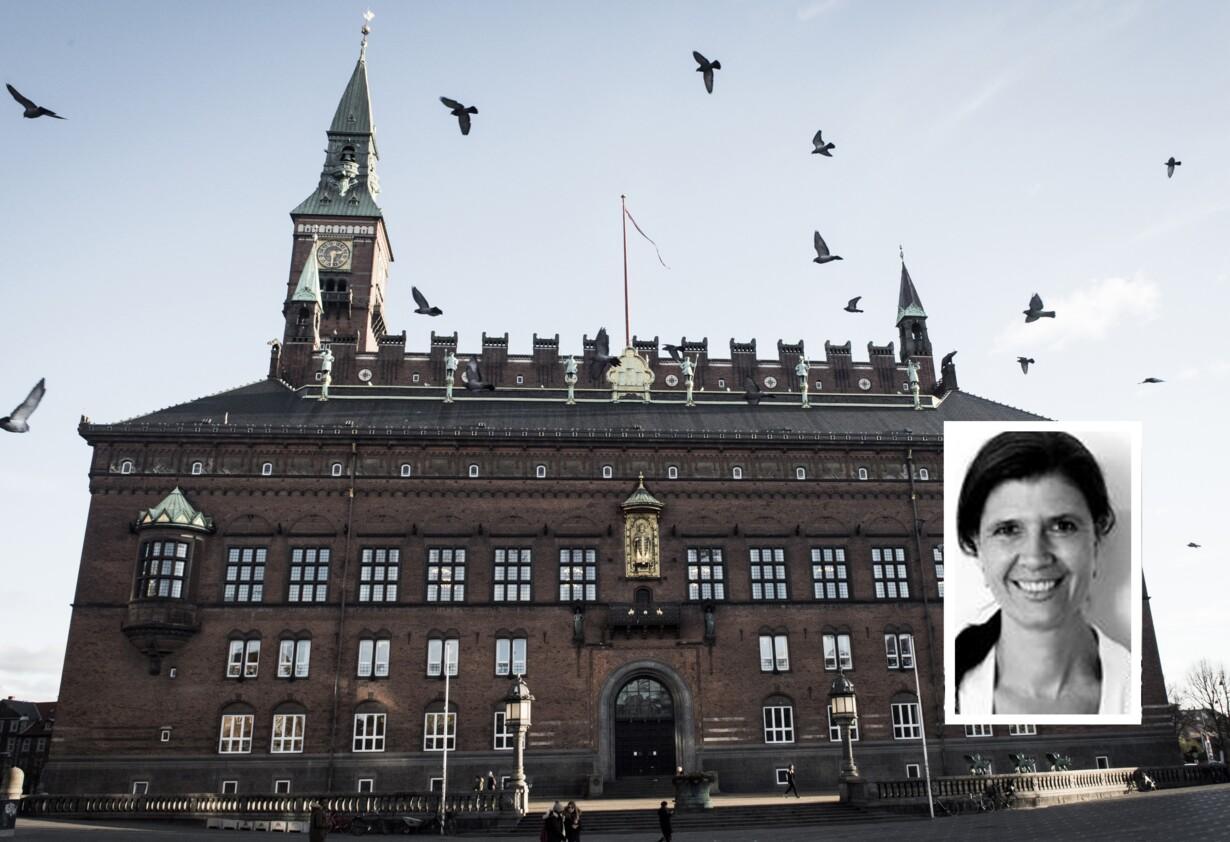 Københavns Rådhus og Malene Møller Ruszkai