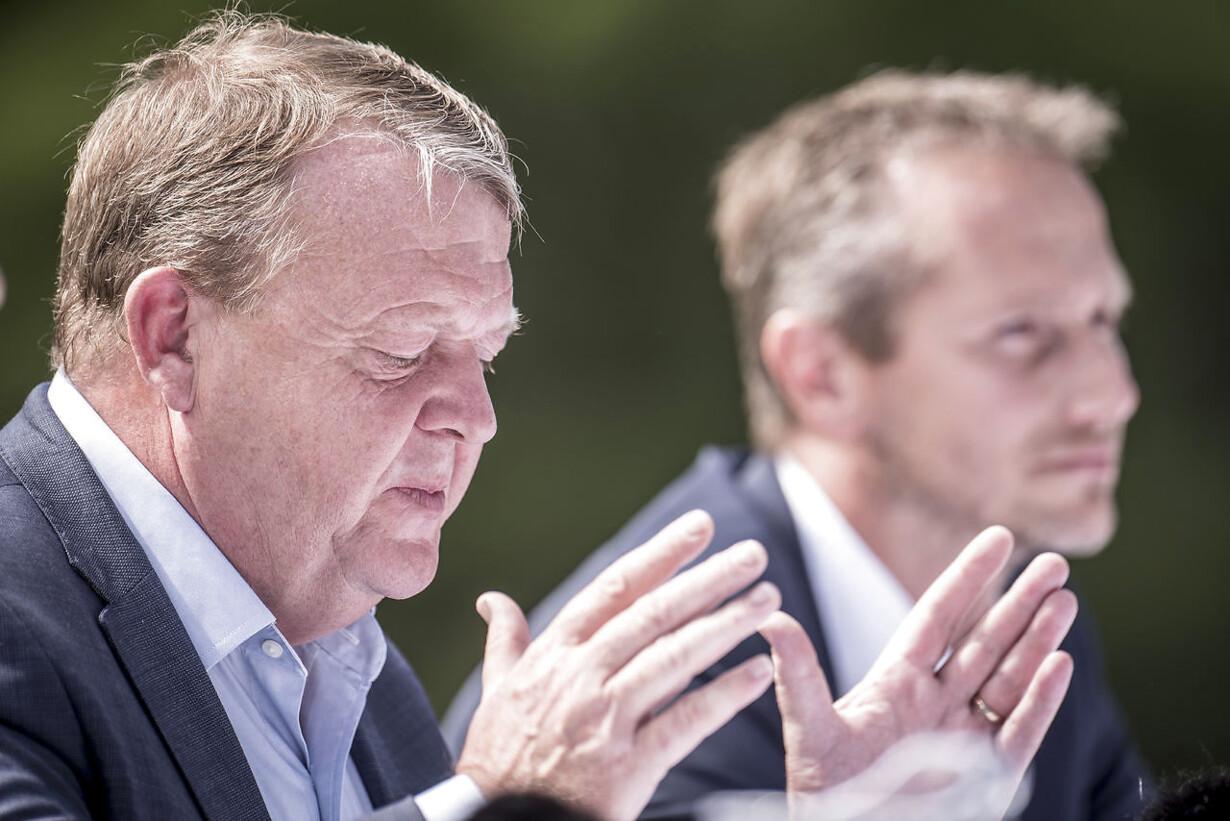 Venstre holder pressemøde på sommergruppemødet