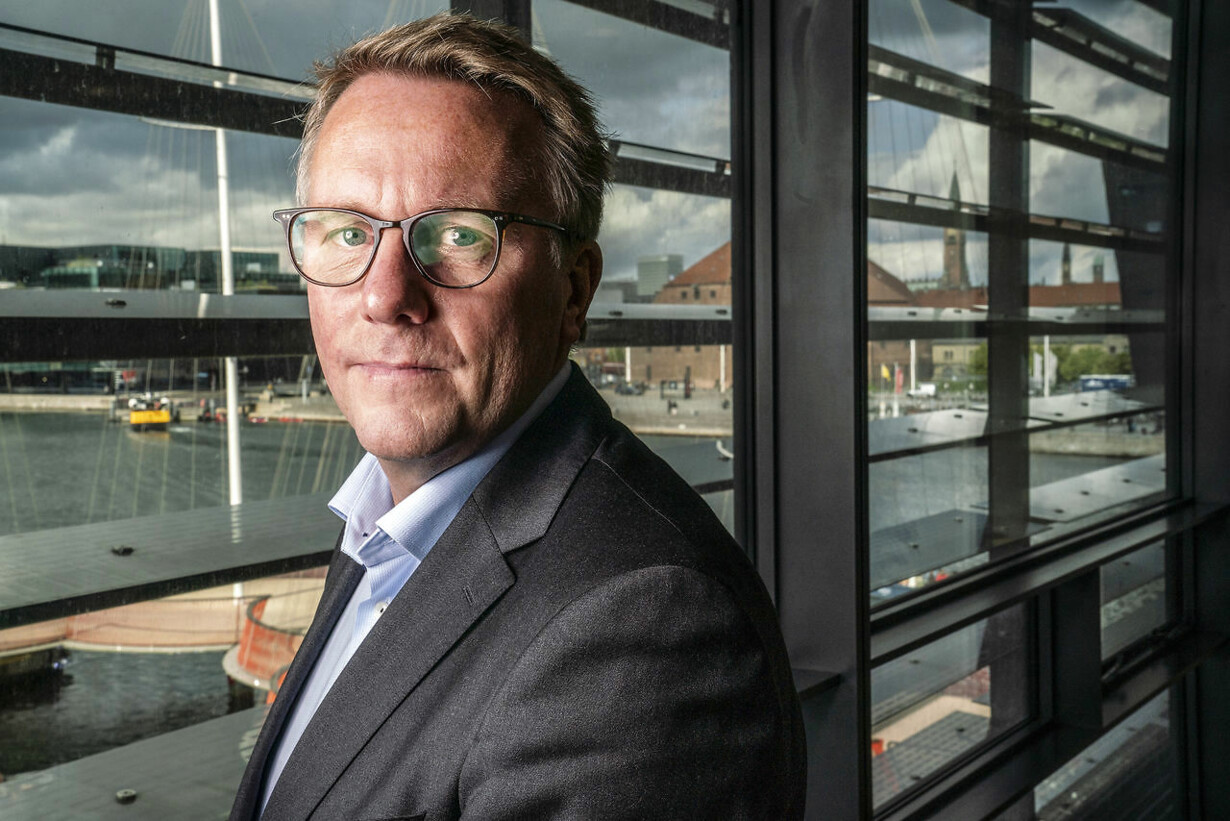 Skatteminister Morten Bødskov