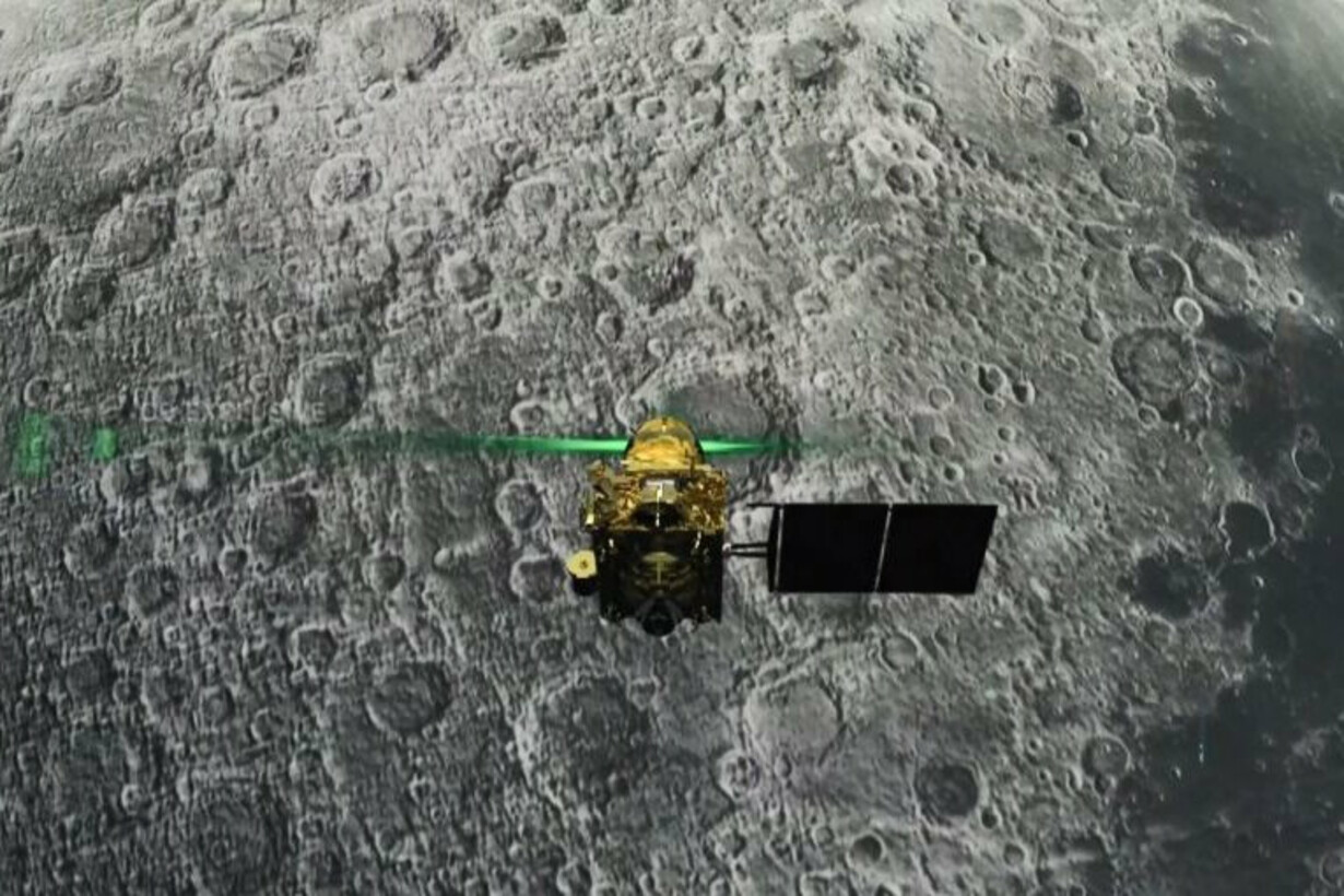 INDIA-SPACE-MOON-EXPLORATION -