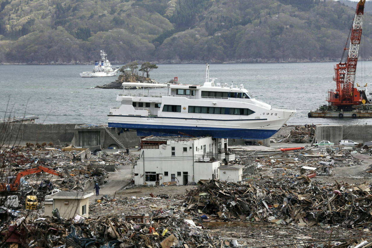 JAPAN EARTHQUAKE TSUNAMI ANNIVERSARY