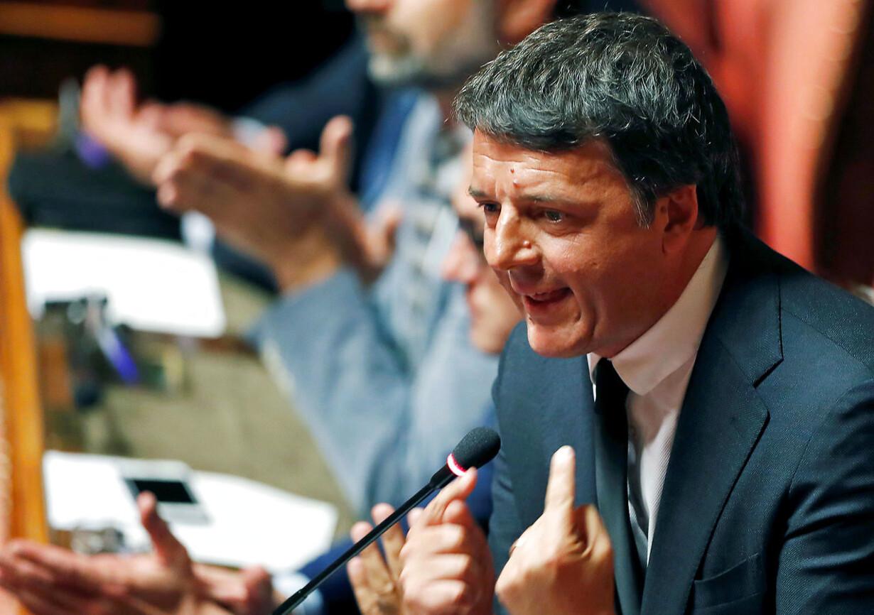 ITALY-POLITICS/RENZI