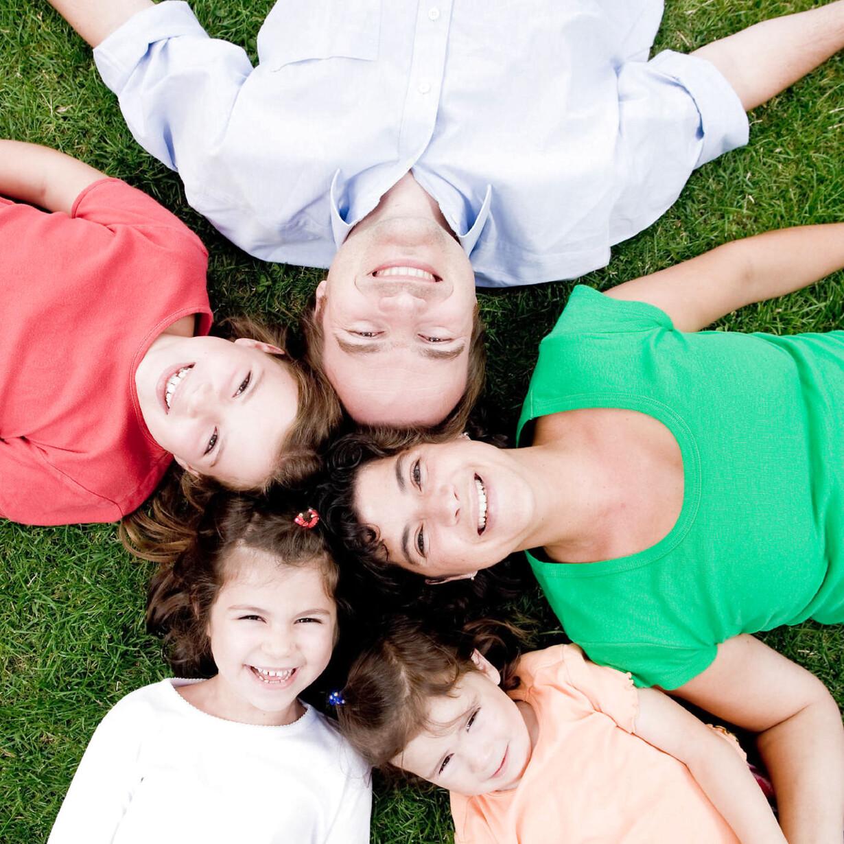 Sammenbragt familie