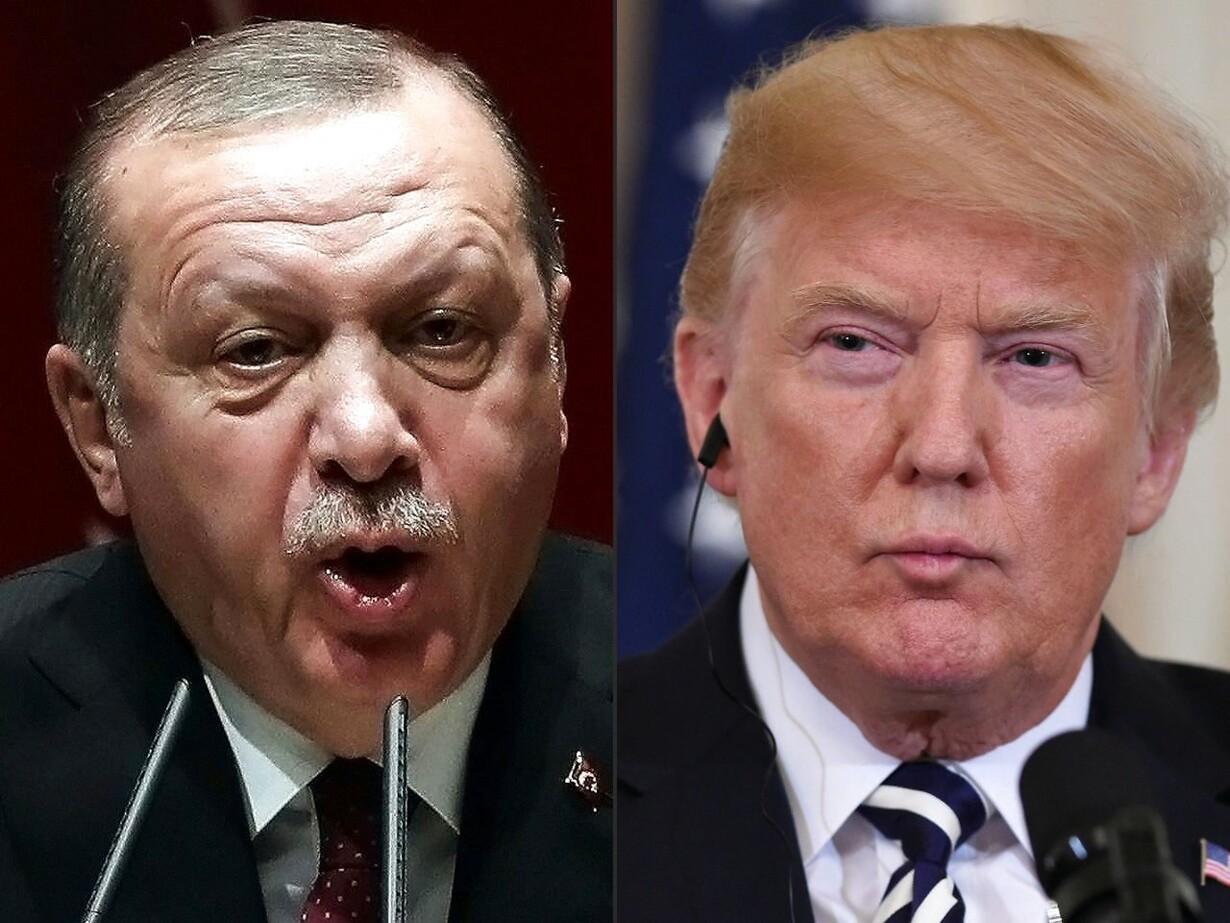 Erdogan og Trump