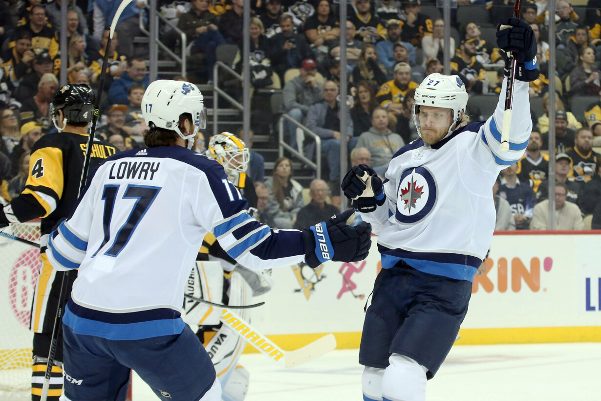 NHL: Winnipeg Jets at Pittsbur