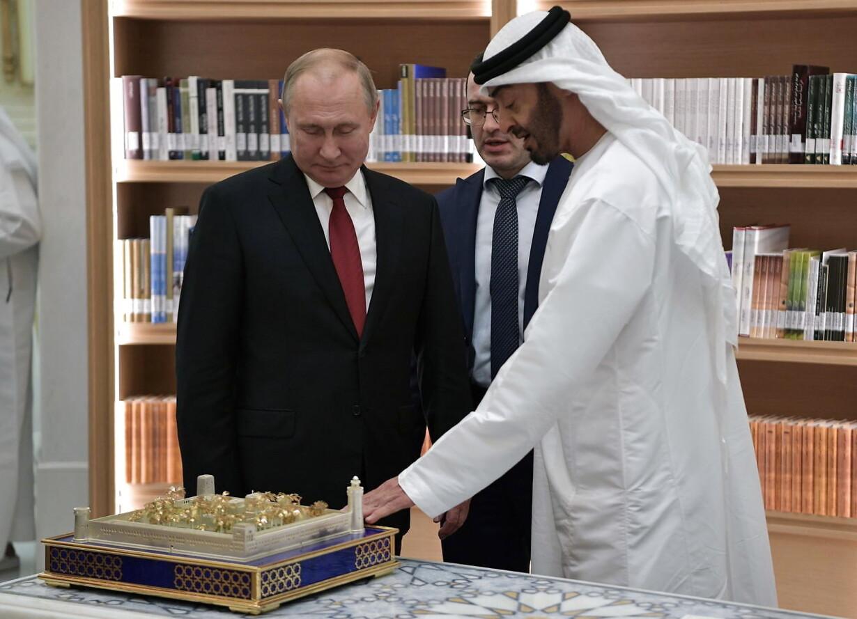 Putin Mellemøsten