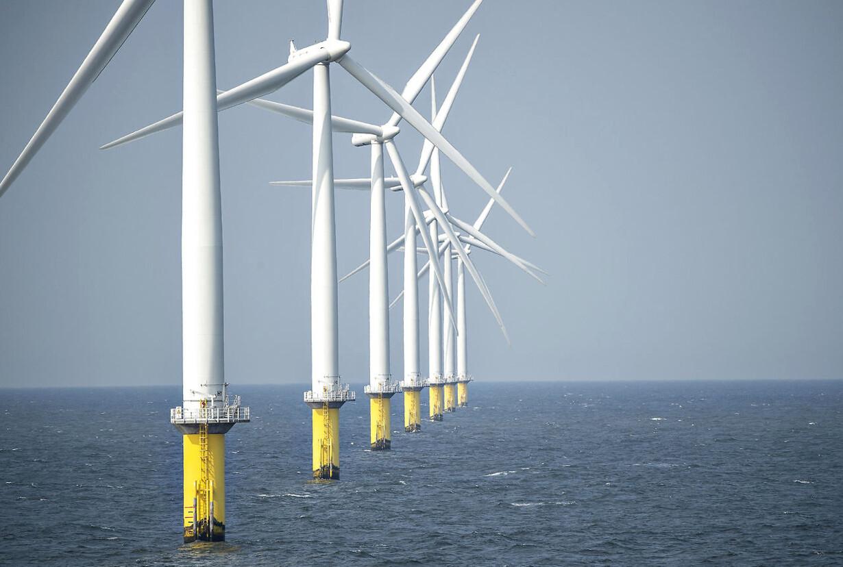 Regeringens energipolitik på trapperne Horns Rev 2