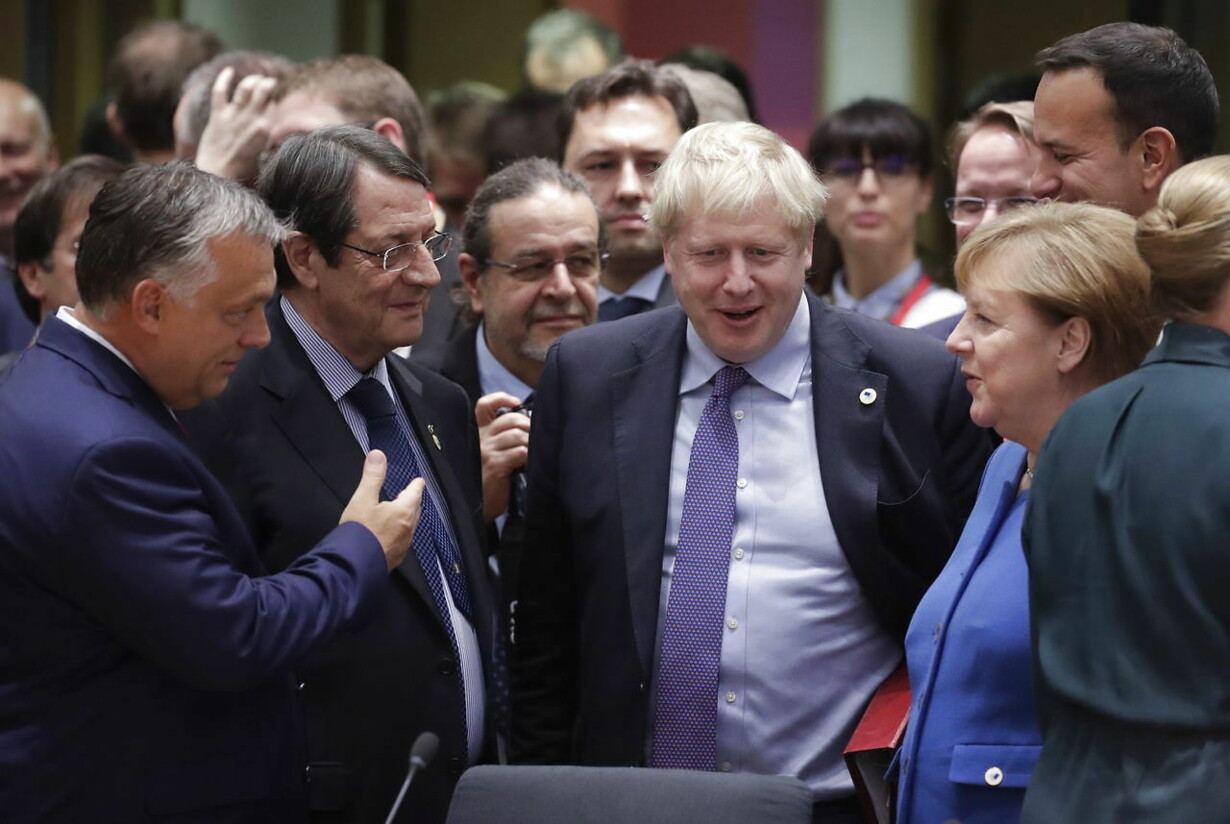 epaselect BELGIUM EU SUMMIT BREXIT