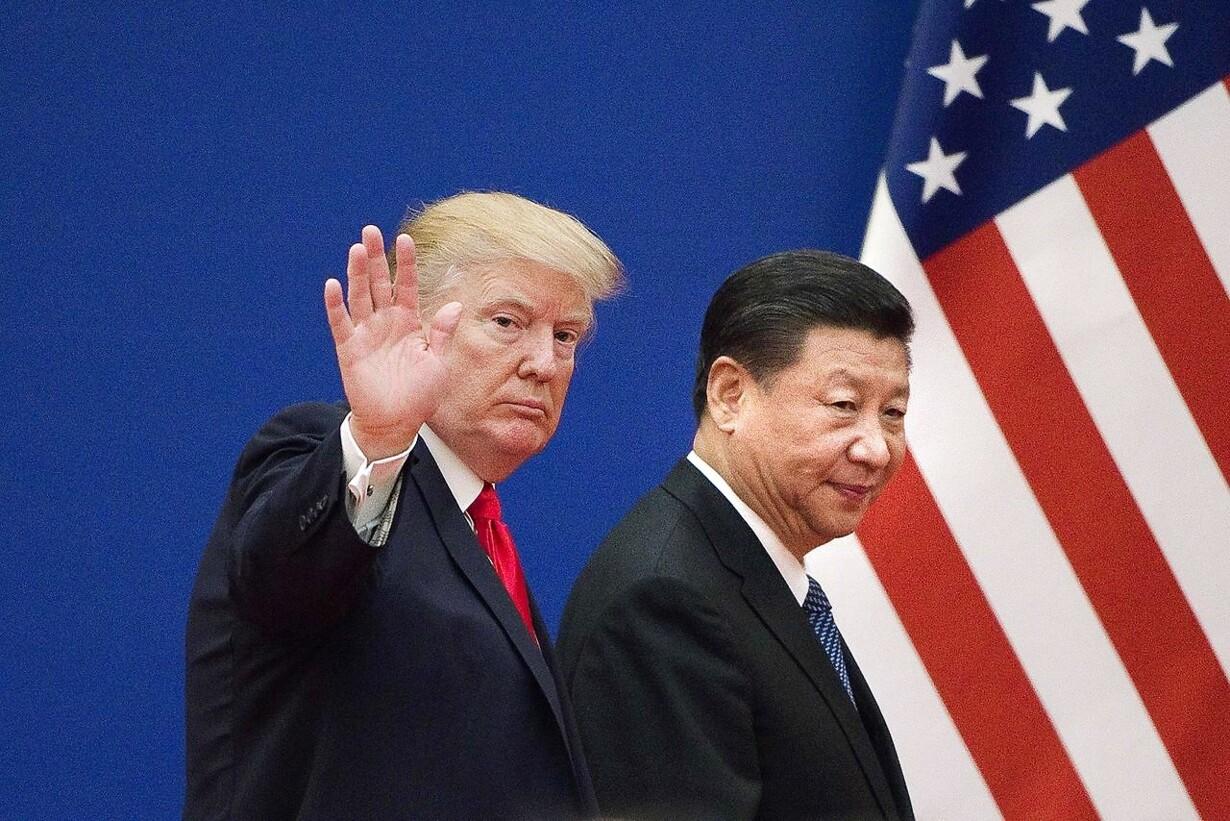 Trump og Xi Jinping har mødtes flere gange