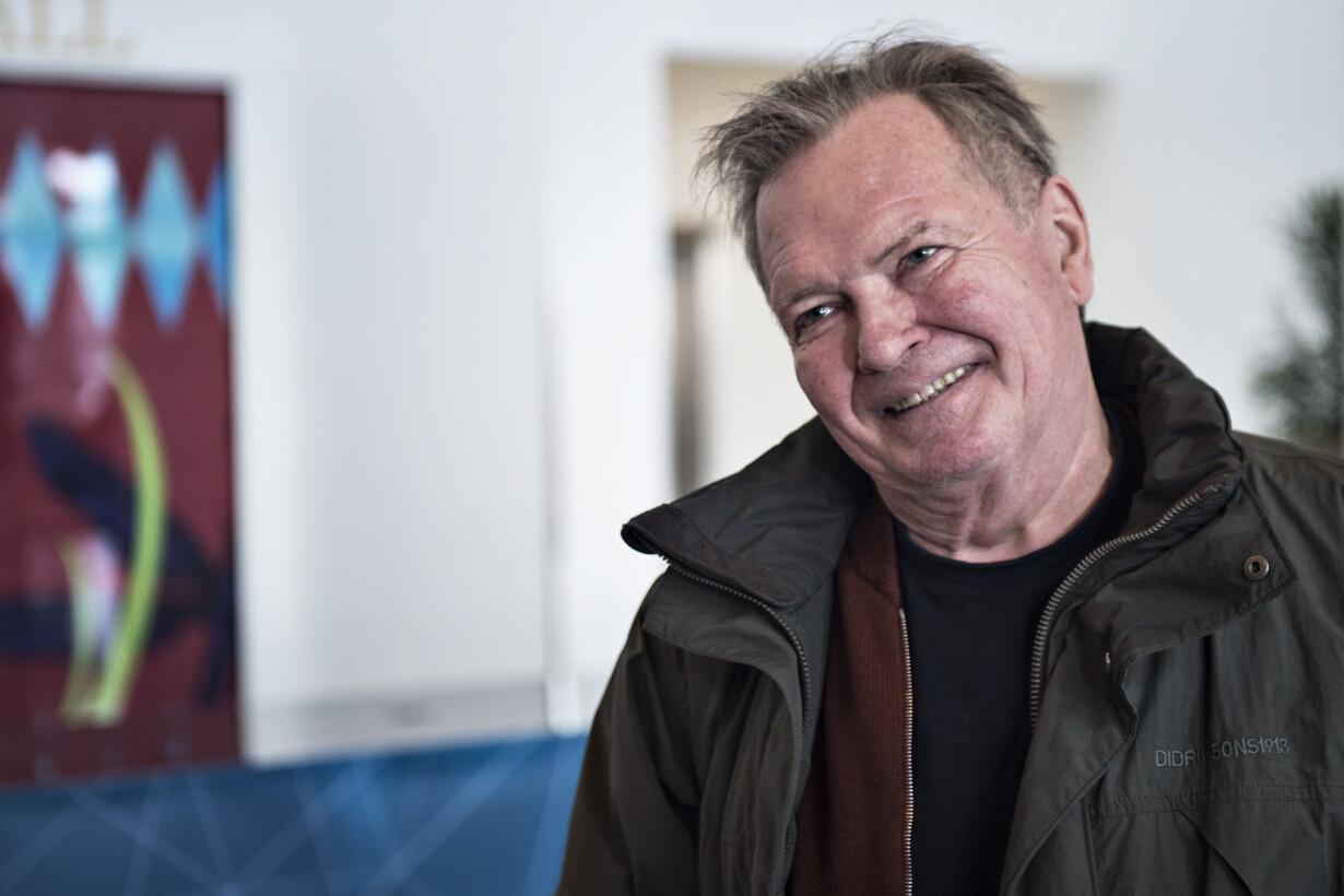 Veteranen Frank Aaen bliver va