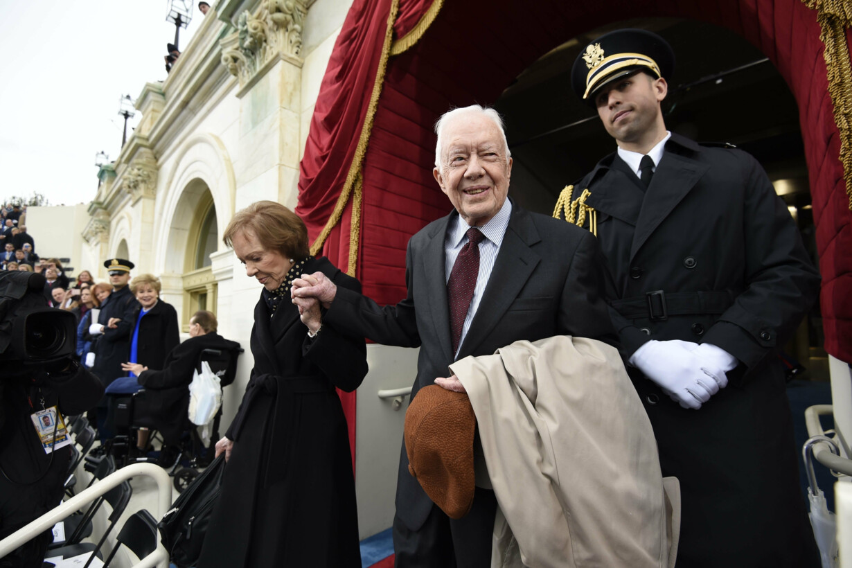 Jimmy Carter hospitalized for
