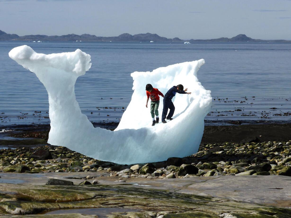 CLIMATECHANGE-GREENLAND/