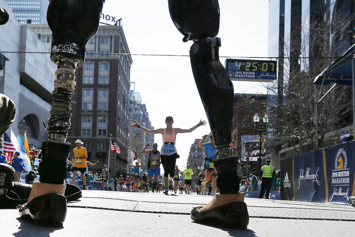 USA-ATHLETICS/BOSTON MARATHON