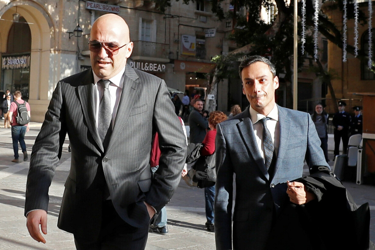 Maltese businessman Yorgen Fen